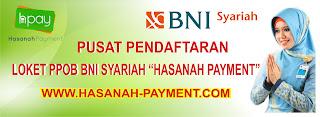HASANAH PAYMENT PPOB BNI SYARIAH