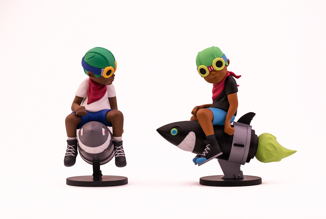 e9efdde103fd0 ComplexCon Exclusive Beyond the Beyond Flyboy Vinyl Figure by Hebru  Brantley x Billionaire Boys Club x BAIT