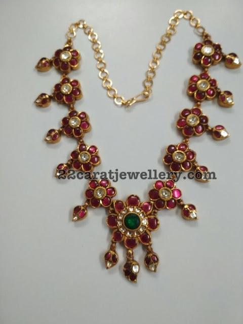 Burmese Rubies Pendant Sets