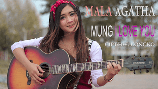 Lirik Lagu Mala Agatha - Mung I Love You