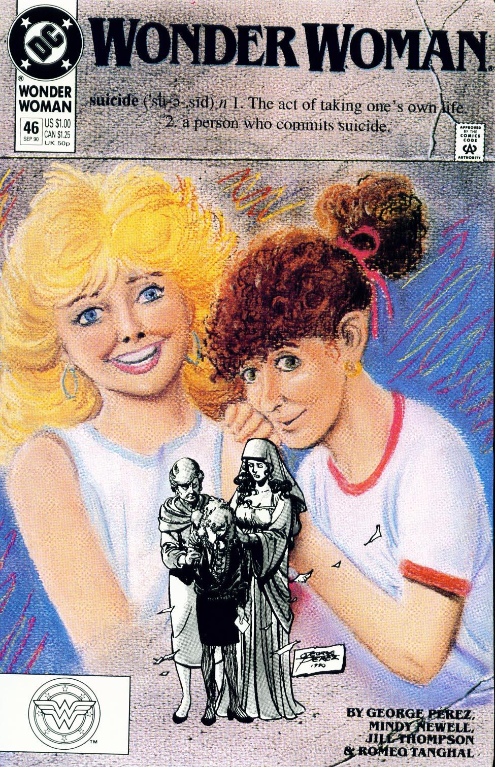 Read online Wonder Woman (1987) comic -  Issue #46 - 1