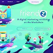 Giới thiệu dự án ICO Friendz – ICO Bench 4.8/5 – Thưởng coin miễn phí khi mời bạn bè