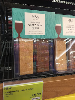 marks and spencer craft beer fudge