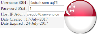 Free SG.DO SSH Account July 19 2017