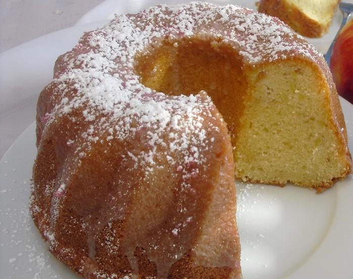 Omas Rezept Apfel Eierlikor Kuchen