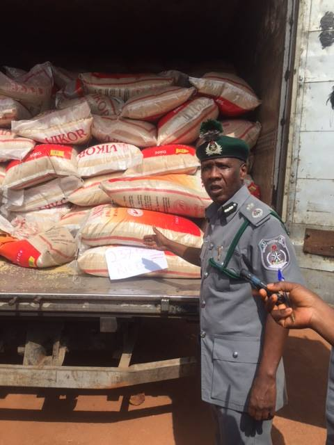 FOU Zone 'C' Impounds Prohibited Goods Worth over N1 Billion, Arrest 18 Suspects