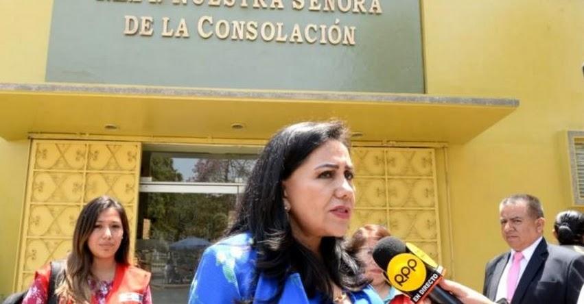 Ministerio de la Mujer brindará apoyo a joven que denunció agresión sexual cuando era escolar en colegio del Rímac