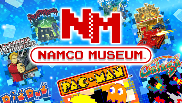Namco Museum For Nintendo Switch Coming Next Month