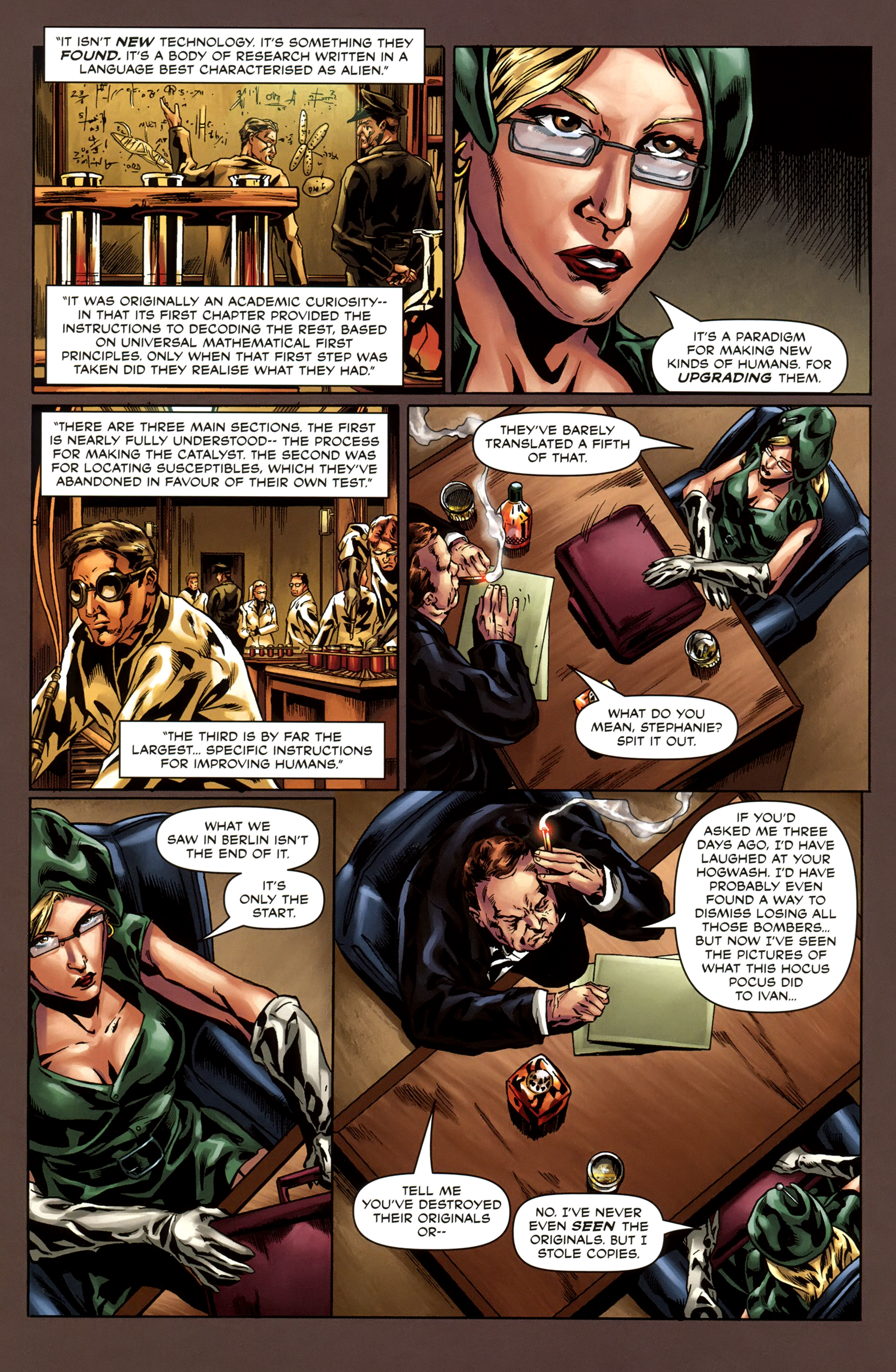Read online Uber comic -  Issue #3 - 11