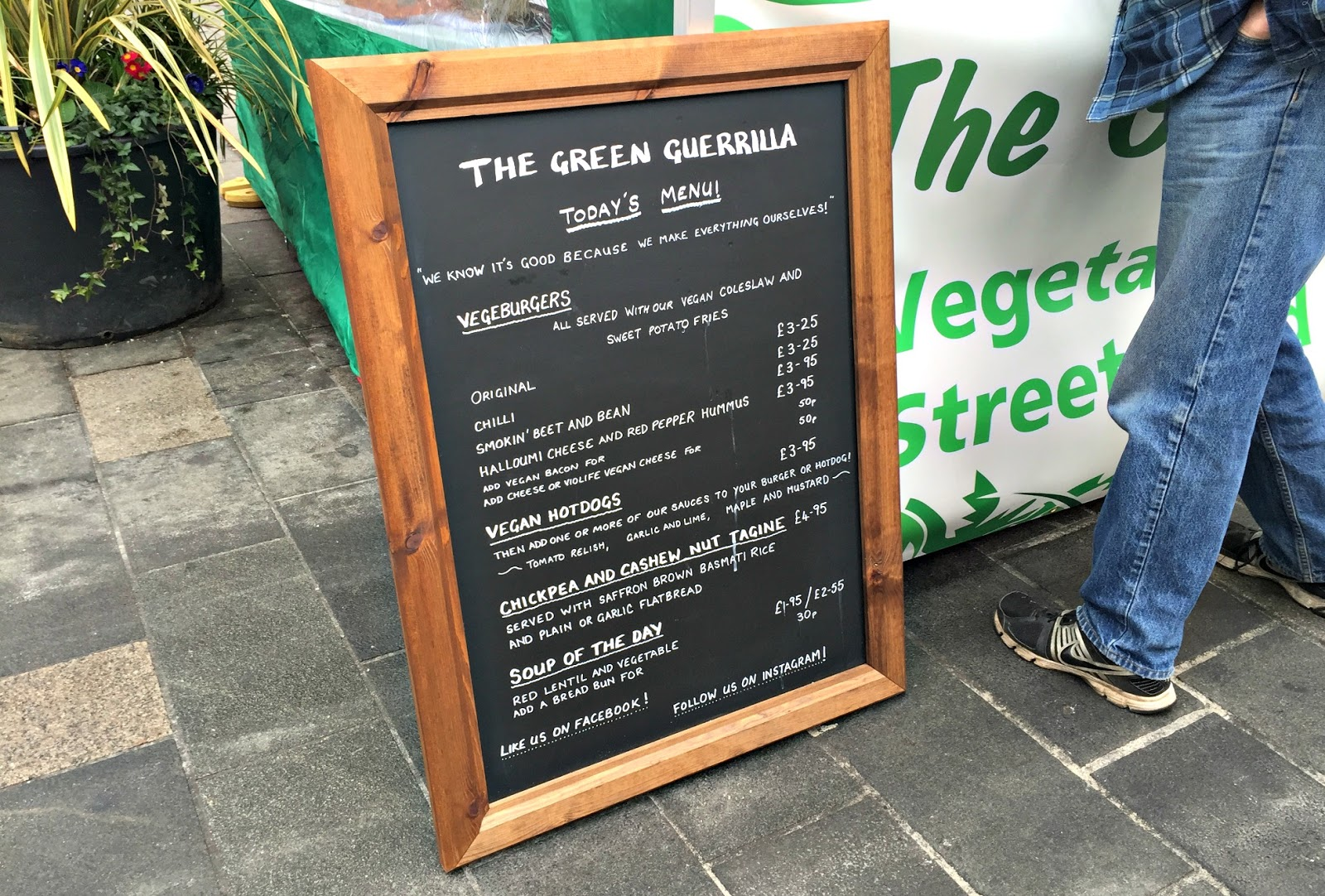 The Green Guerrilla Vegan and Vegetarian Food Durham