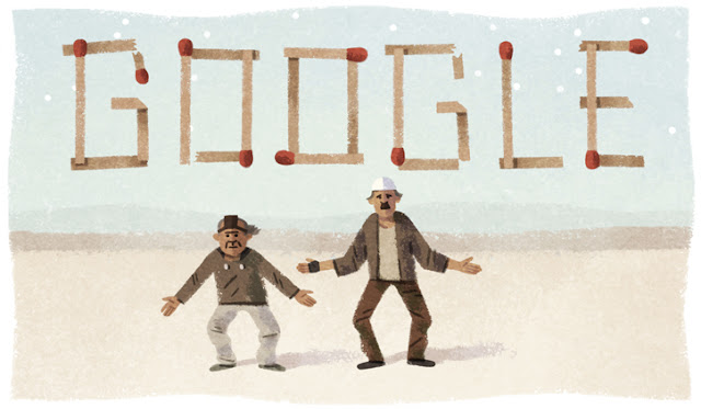 "30th Anniversary of Film ""Kin-Dza-Dza!"" Google Doodle"