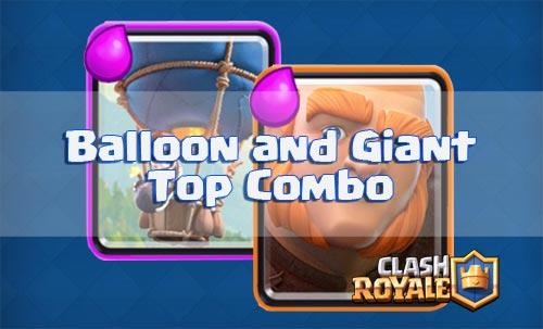 Strategi Ballon dan Giant di arena 2 - 4 clash royale
