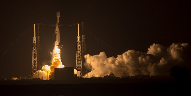 first reflown block 5 falcon 9 sends merah putih into orbit