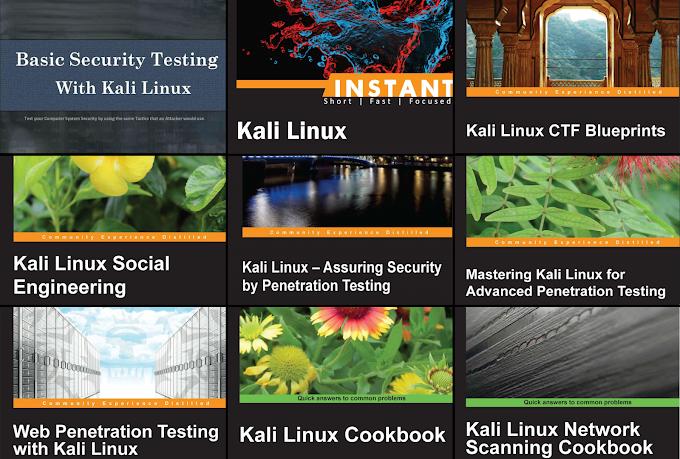 Tổng hợp bộ tài liệu hacking với Kali Linux (english)