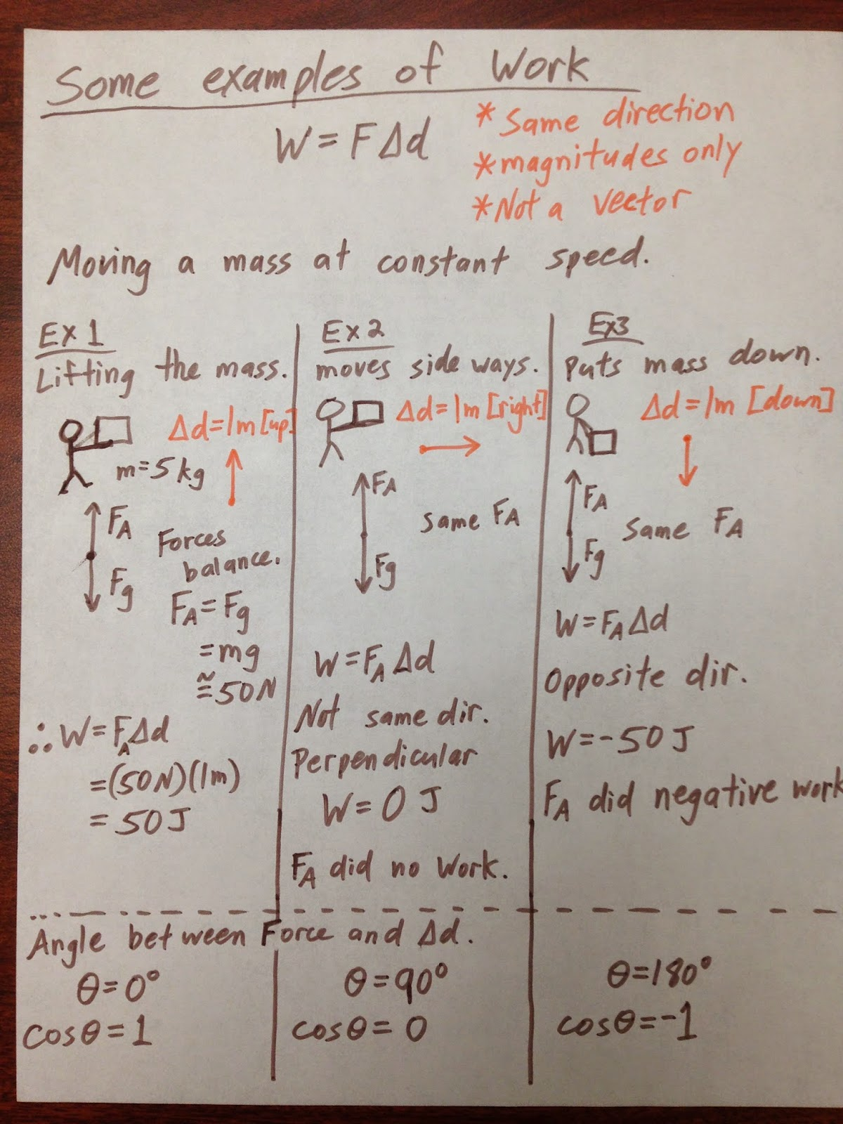Grade 11 Physics Nov 5 Work And Kinetic Energy