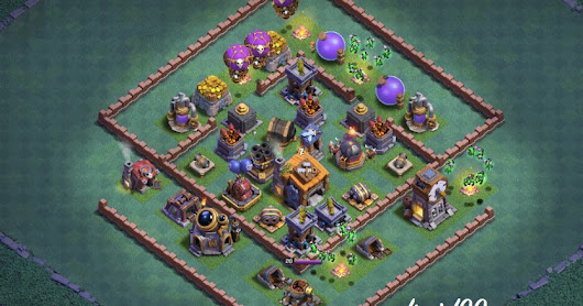 13 BASE TERBAIK AULA TUKANG LEVEL 7 CLASH OF CLANS (BASIS TUKANG)