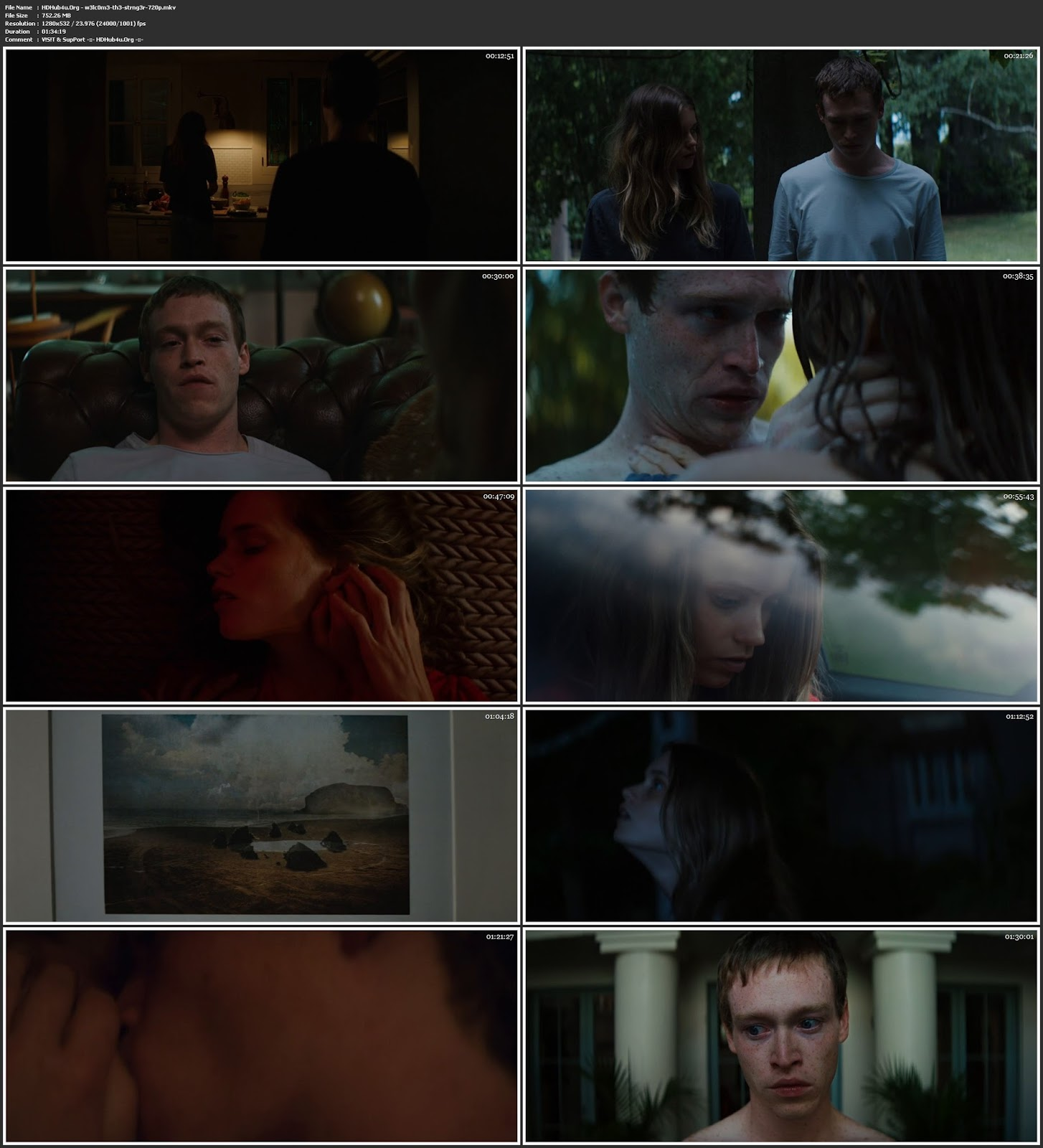 Welcome the Stranger 2018 300MB English Movie 480p Web-DL ESubs Download