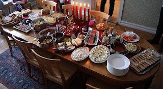 Julbord, el buffet típico sueco en Navidad (@mibaulviajero)