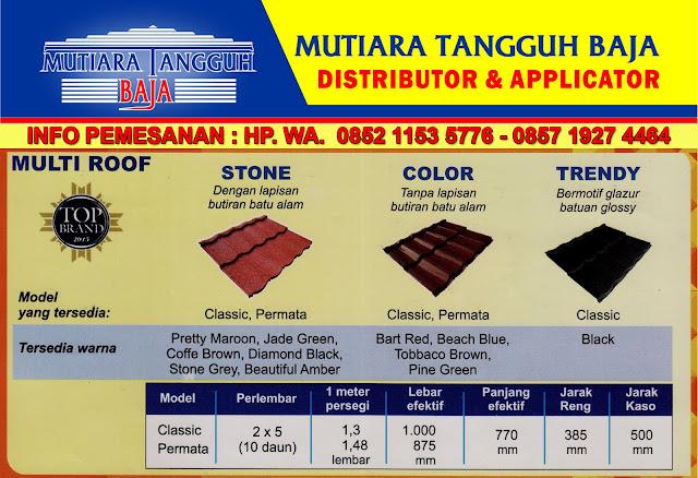 Agen Distributor Genteng Metal SiMANTAP Jabodetabek