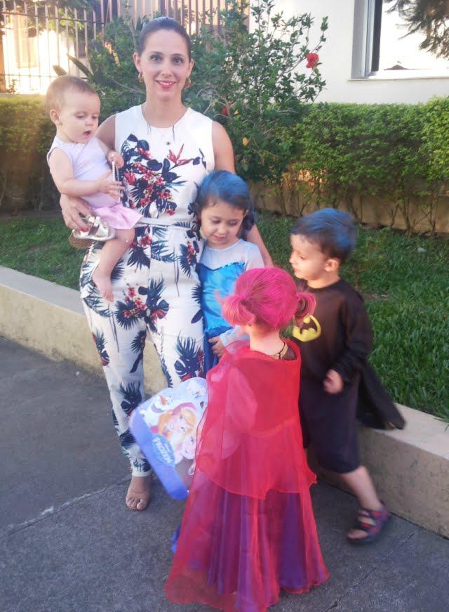 carnaval com as crianças