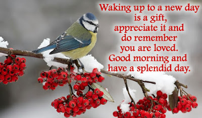 Good Morning Quotes For Friends: waking up to a new day is a gift, appreciate it and do remember you loved