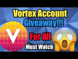 FREE VORTEX ACCOUNTS WITH 3 MONTH SUBSCRIPTION ~ MrGamerYT