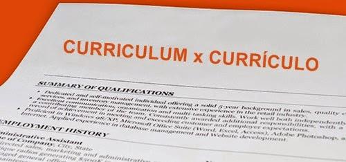 Curriculum ou Curriculo Exemplos Prontos