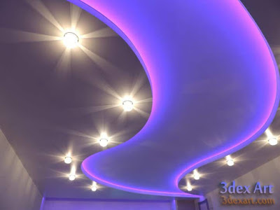 false ceiling designs for living room and hall 2018, ceiling designs 2018, ceiling lighting ideas, stretch ceiling