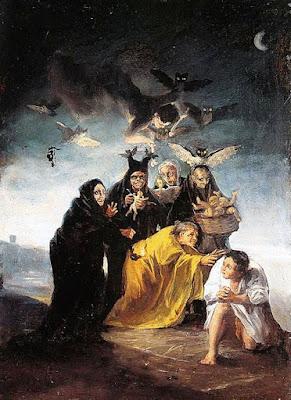 Francisco de Goya, «Las brujas»