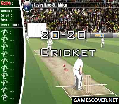 Play 20-20 Cricket Game Online