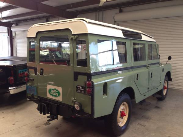 1966 land rover 109 series iia for sale 68 000. Black Bedroom Furniture Sets. Home Design Ideas