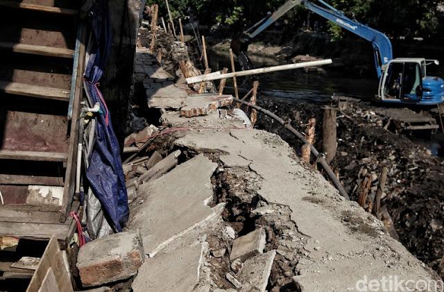 Rumah Ambles di Pademangan, Pemprov DKI Sebut Ada Salah Prosedur