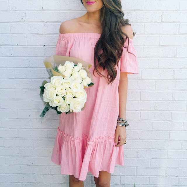 really pretty pink dress