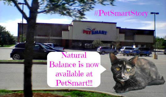 On a Mission to PetSmart for Natural Balance #PetSmartStory