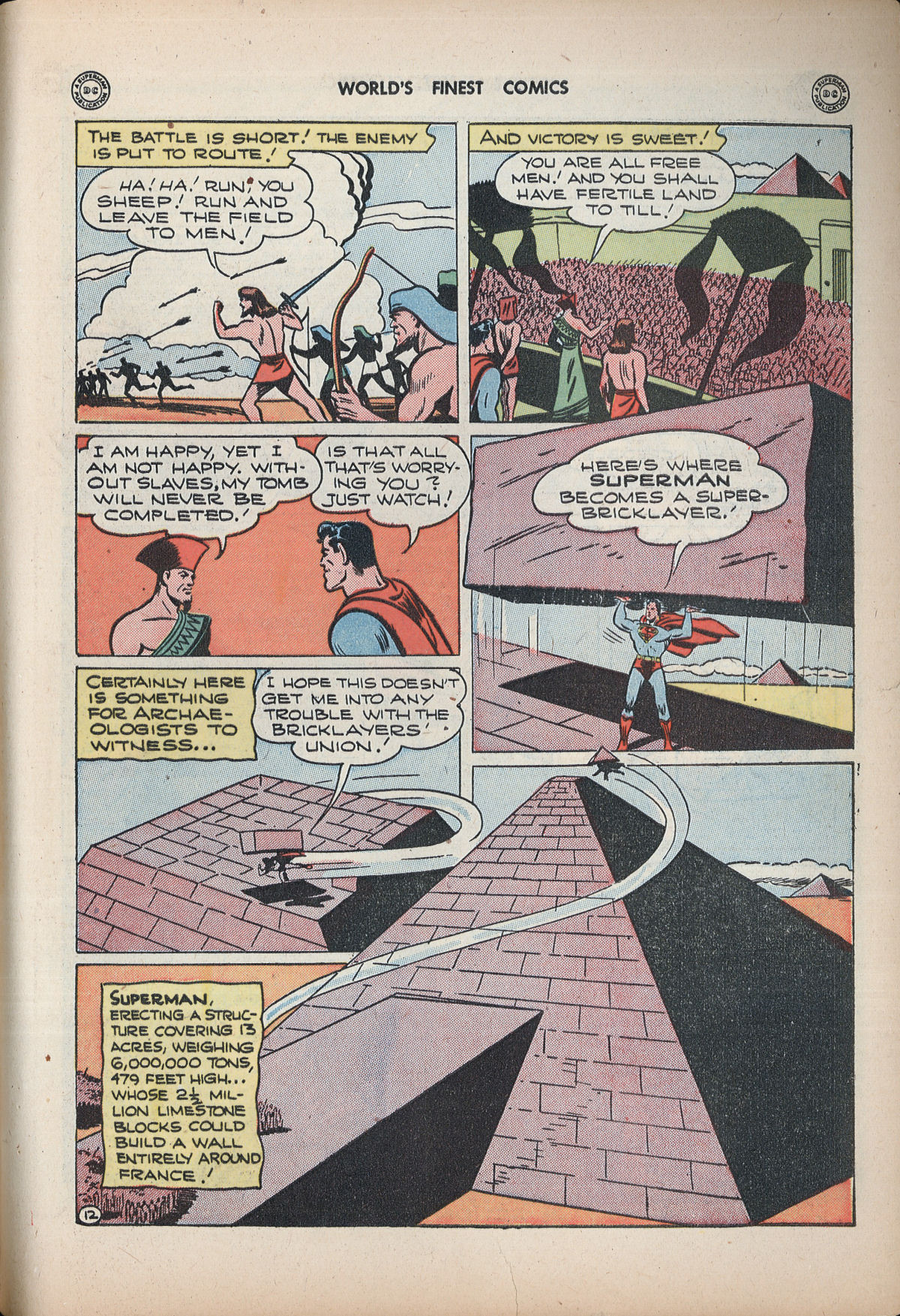 Read online World's Finest Comics comic -  Issue #32 - 71