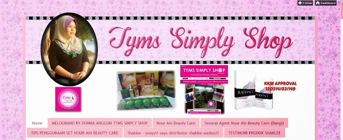 Tempahan Design Blog : Tyms Simply Shop