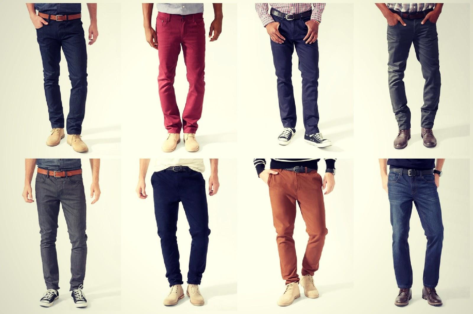 Combinando zapatos y pantalones - Zapatos collage ...