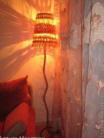 TUTORIAL GRATIS LAMPARA  CON PAPEL DE PERIODICO