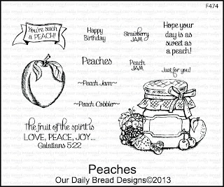Our Daily Bread Designs, Peaches