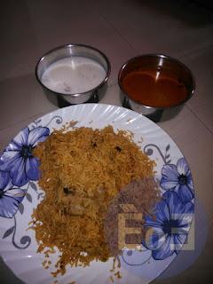 Delicious Chicken Biryani recipe