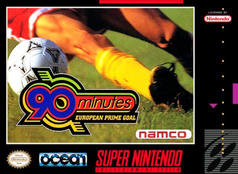 90 Minutes - European Prime Goal - SNES - Portada