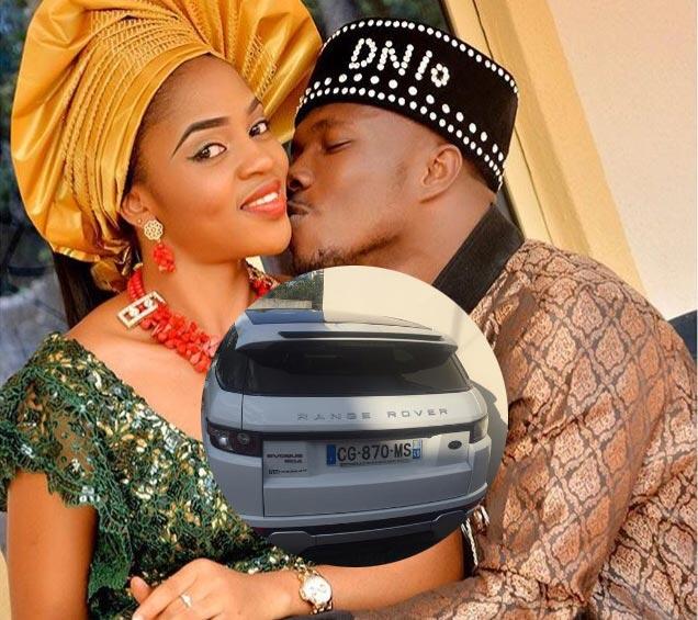 Footballer Dickson Nwakaeme buys Range Rover Evoque for wife