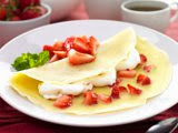 Pannekoek Strawberry