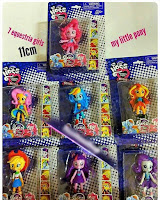 Fake MLP Equestria Girls Minis Figures
