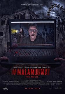 Sebuah Film Horror Indonesia Terbaru Produksi Blue Water Films Review #Malamjumat The Movie 2019 Bioskop
