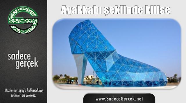 Ayakkabı şeklinde kilise