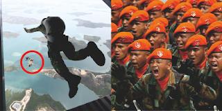 Ternyata Di Desa Ini, TNI AU Terjunkan Pasukan Khusus untuk Pertama Kalinya