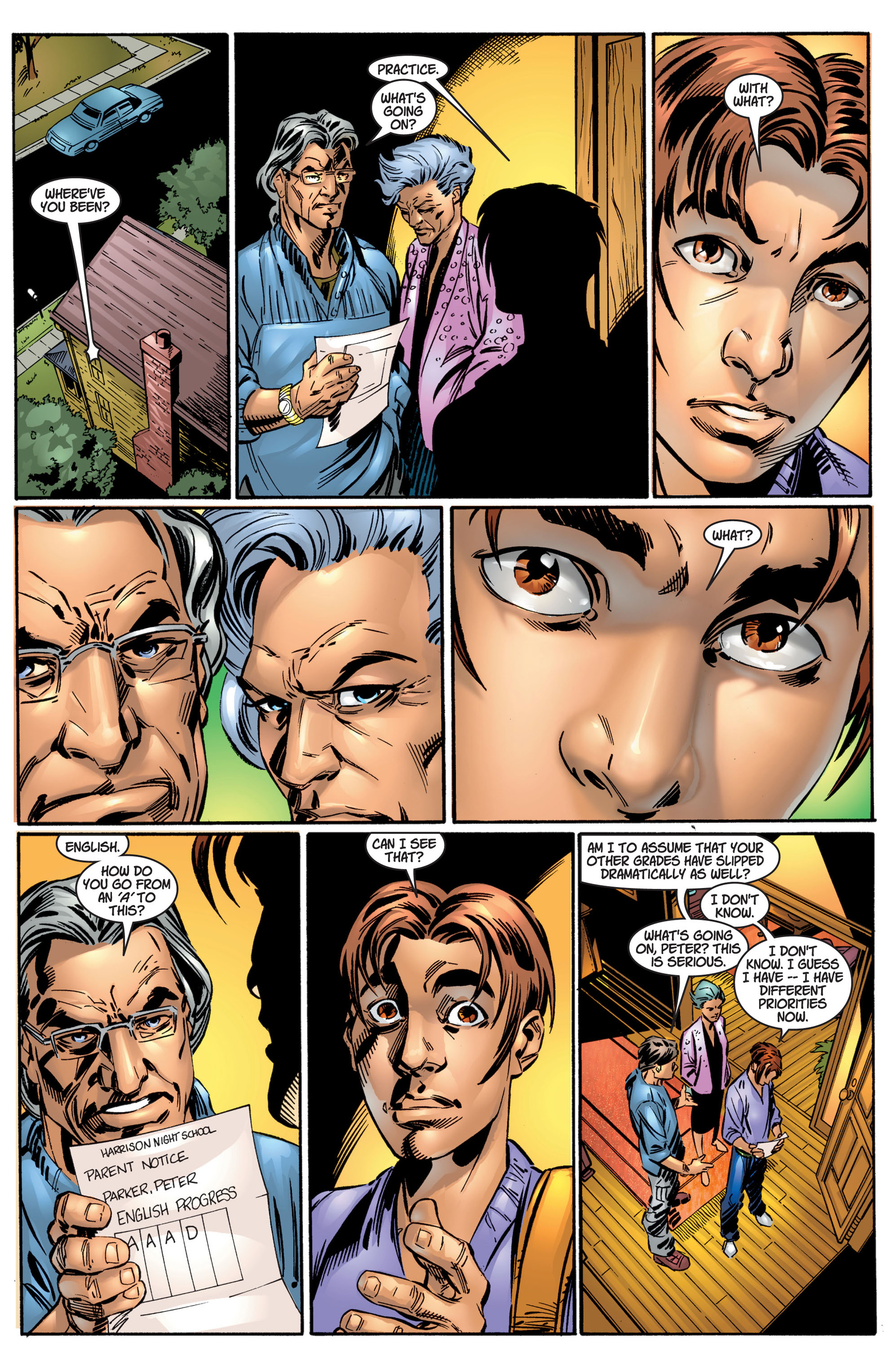 Read online Ultimate Spider-Man (2000) comic -  Issue #4 - 11