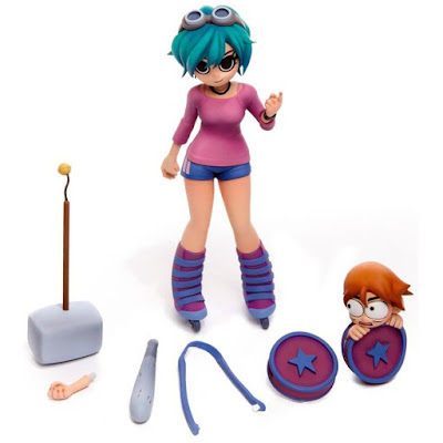 Mondo Exclusive Scott Pilgrim Ramona Flowers Collectible Vinyl Figure by Mondo x Bryan Lee O'Malley