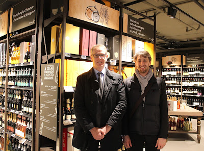 Gianmaria Polti e Paolo Colombo al Carrefour Market Gourmet